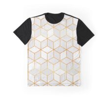 White Cubes Graphic T-Shirt