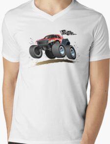 Cartoon Buggy Mens V-Neck T-Shirt