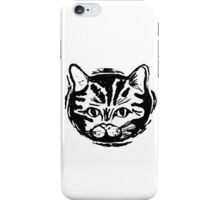 black cat, white cat iPhone Case/Skin