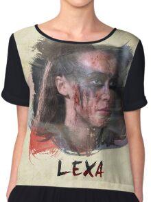 Lexa - The 100 -2 Chiffon Top