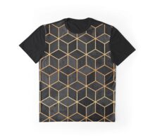 Black Cubes Graphic T-Shirt