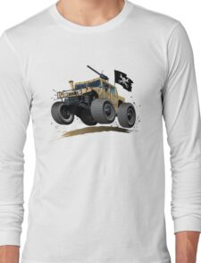 Cartoon Hummer Long Sleeve T-Shirt