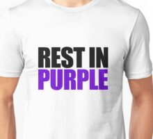 RIP Prince Rogers Unisex T-Shirt