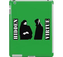Hidden virtue iPad Case/Skin
