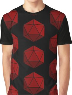 Simple D20 Die, Dice Graphic T-Shirt