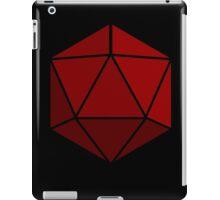 Simple D20 Die, Dice iPad Case/Skin