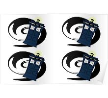 Doctor Who Pattern 2 Poster