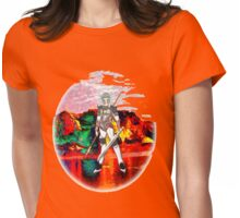Female Warrior from New Earth Womens Fitted T-Shirt