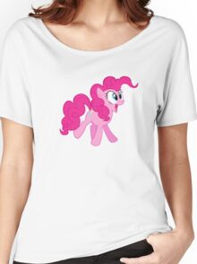 HAPPY PINKIE PIE Women's Relaxed Fit T-Shirt