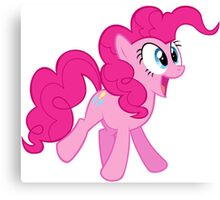 HAPPY PINKIE PIE Canvas Print