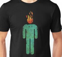 MAN ON FIRE (DISTRESSED) Unisex T-Shirt