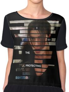 Shaw - Person of interest - Quote Chiffon Top