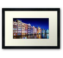 Amsterdam... Framed Print
