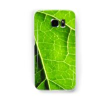 Green leaves produce oxygen Samsung Galaxy Case/Skin