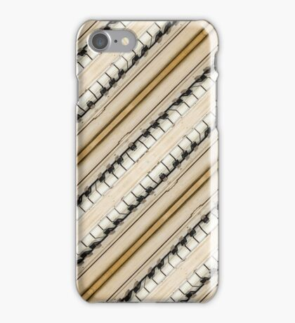 Vintage Piano Keys Graphic iPhone Case/Skin