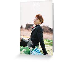 BTS/Bangtan Sonyeondan - Young Forever Concept #8 (J-Hope) Greeting Card