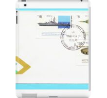First day cover of an Israeli stamp of military manufacturing 1983 iPad Case/Skin