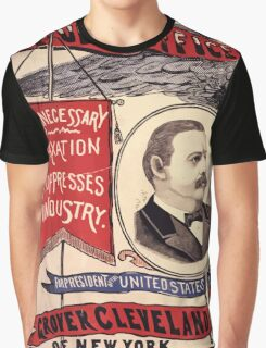 Artist Posters Public office is a public trust For President of the United States Grover Cleveland of New York For Vice President of the United States Allen G Thurman of Ohio 0380 Graphic T-Shirt