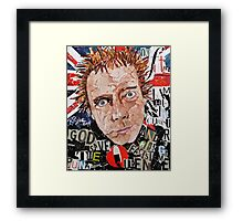 Rotten Made In Britain Framed Print