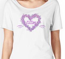 Flowery Kitten Women's Relaxed Fit T-Shirt