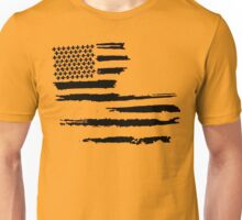 Black Louisiana Flag Unisex T-Shirt