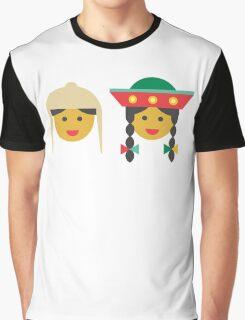 a quechua boy and girl Graphic T-Shirt