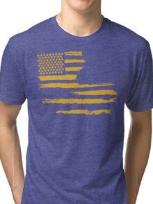 Gold Louisiana Flag Tri-blend T-Shirt
