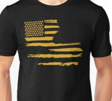 Gold Louisiana Flag Unisex T-Shirt