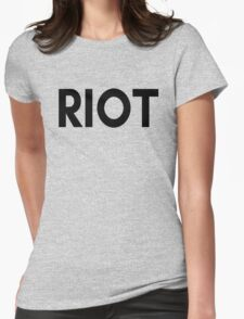 RIOT - Its Always Sunny In Philadelphia  Womens Fitted T-Shirt