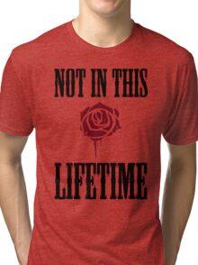 Not in this lifetime Axl and Slash reunion. Classic Guns n´roses Tri-blend T-Shirt