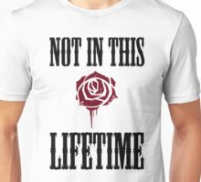 Not in this lifetime Axl and Slash reunion. Classic Guns n´roses Unisex T-Shirt