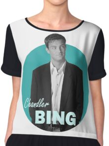 Chandler Bing - Friends Chiffon Top