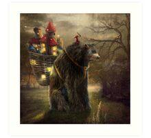 """""""A Bear Who Carried A Kingdom"""" Art Print"""