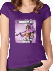 Thormail <3 Women's Fitted Scoop T-Shirt