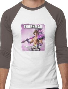 Thormail <3 Men's Baseball ¾ T-Shirt