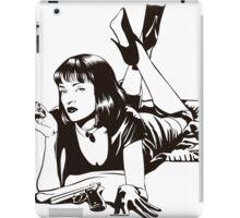Pulp Movie Illustration iPad Case/Skin