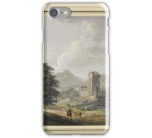 Ross Castle and the Lakes of Killarney by Paul Sandby iPhone Case/Skin