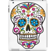 skull white iPad Case/Skin