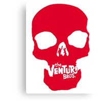 Venture Bros Red Skull! Canvas Print