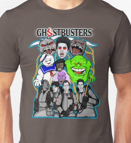Ghostbusters villains collage Unisex T-Shirt