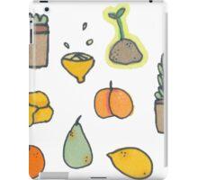Fruit and Plants iPad Case/Skin
