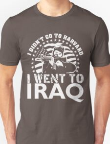 HARVARD $ IRAQ Unisex T-Shirt