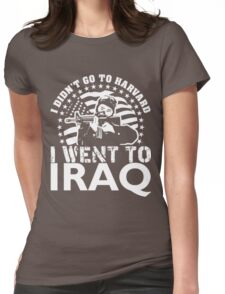 HARVARD $ IRAQ Womens Fitted T-Shirt