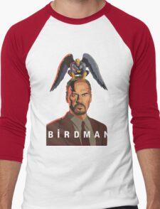Birdman Men's Baseball ¾ T-Shirt