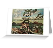 Landscape,The Group of Seven, Casson Greeting Card