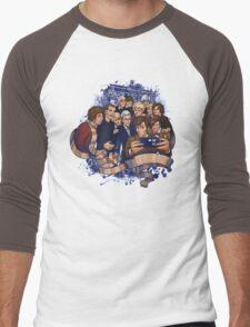 Doctor Who Selfie Men's Baseball ¾ T-Shirt