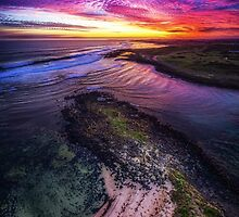 Passage Sunset - Port Fairy by hangingpixels