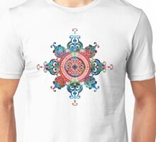Colorful Pattern Art - Color Fusion Design 3 By Sharon Cummings Unisex T-Shirt