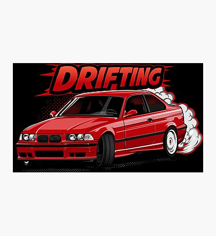 lets drifting Photographic Print
