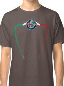 Alfa of Birmingham Tricolore Classic T-Shirt